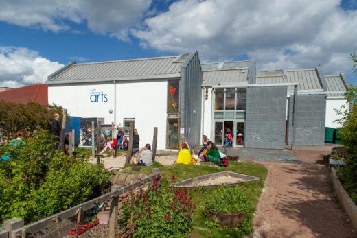 North Edinburgh Arts garden