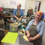 Community cooking team